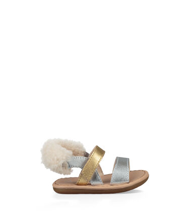 Dorien Metallic Sandal