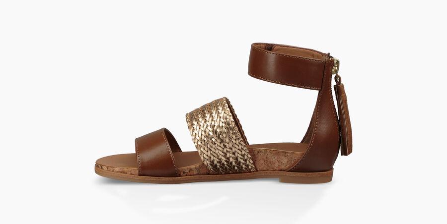 Marabel Metallic Sandal - Image 3 of 6