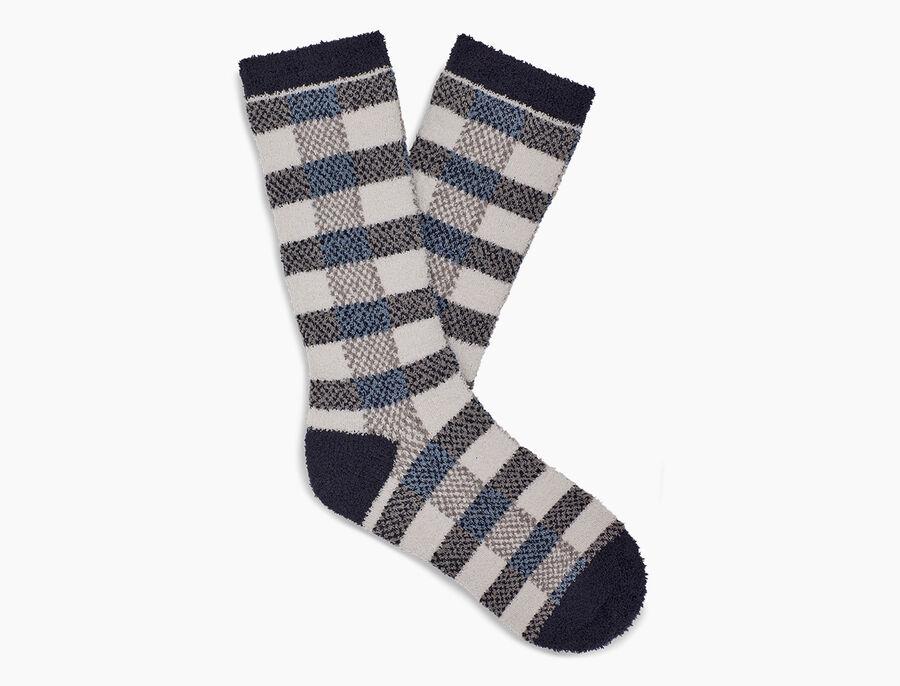 Malcolm Check Crew Sock - Image 1 of 1