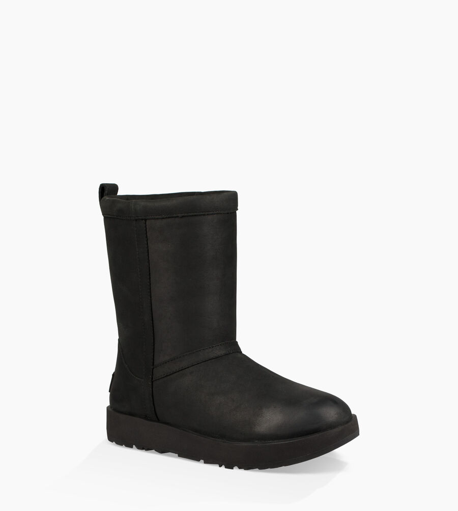 Classic Short Leather Weather Boot - Image 2 of 6