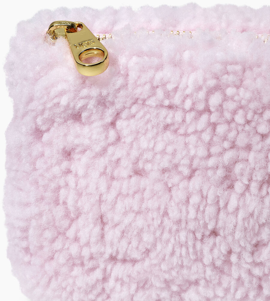 Sheepskin Small Zip Pouch  - Image 5 of 5