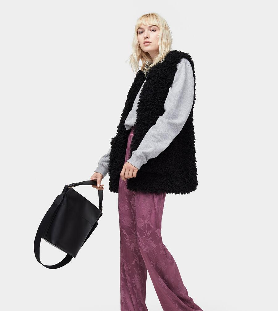 Farrah Faux Fur Vest - Image 1 of 1