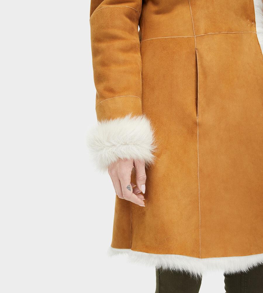 Vanesa Toscana Shearling Coat  - Image 4 of 6
