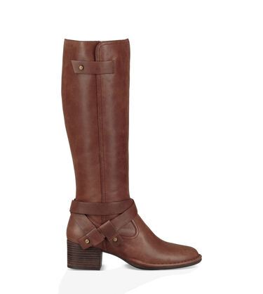 Leather Bandara Tall Boot