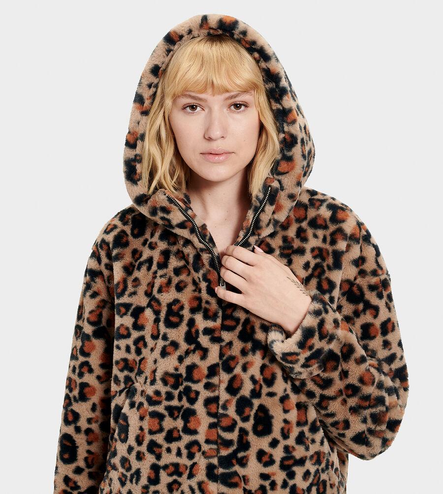 Mandy Faux Fur Hoodie - Image 5 of 7