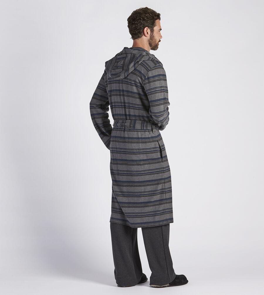 Miles Stripe Robe - Image 2 of 4