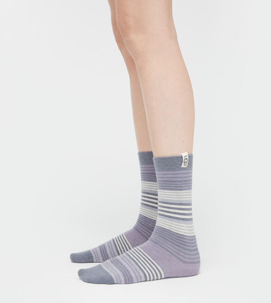 Merino Wool Jacquard Crew Sock - Image 1 of 2