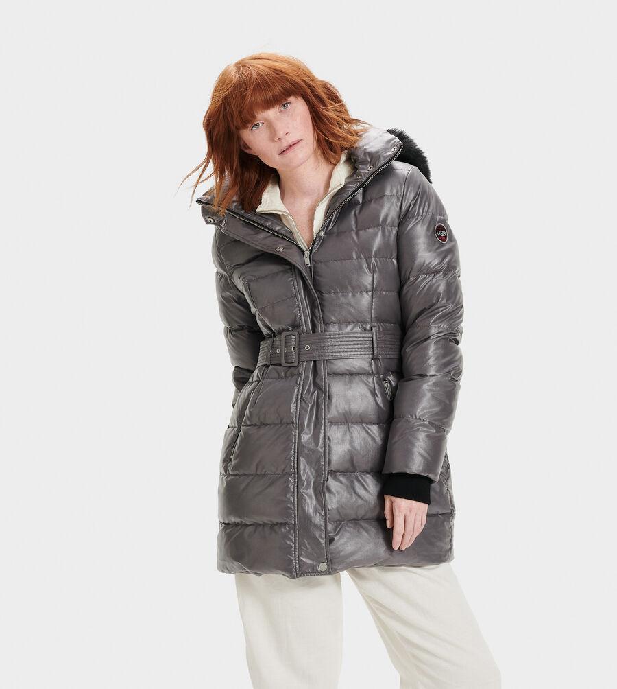 Valerie Belted Down Coat II - Image 2 of 5