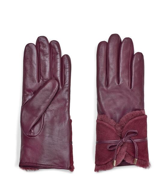 Combo Sheepskin Trim Glove