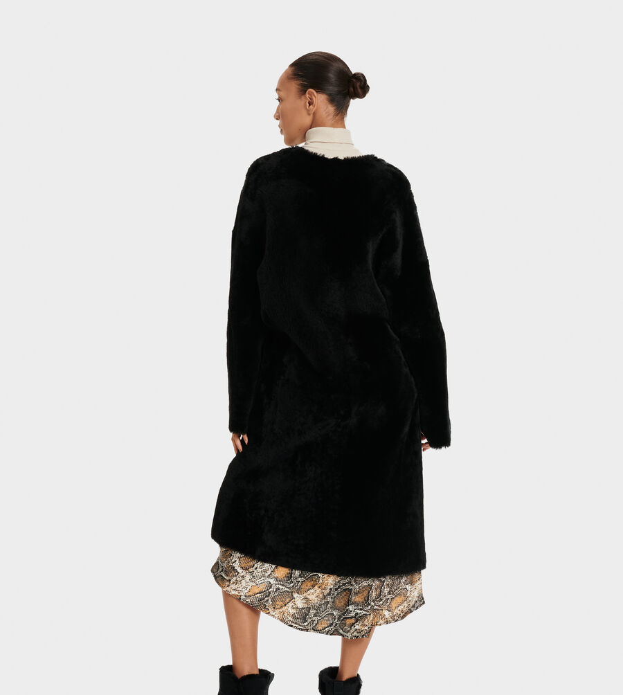 Remy Reversible Shearling Coat - Image 2 of 6
