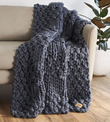 Hava Knit Throw Alternative View