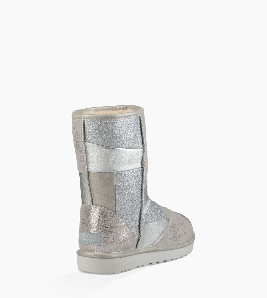 Classic Glitter Patchwork Boot - Image 4 of 6