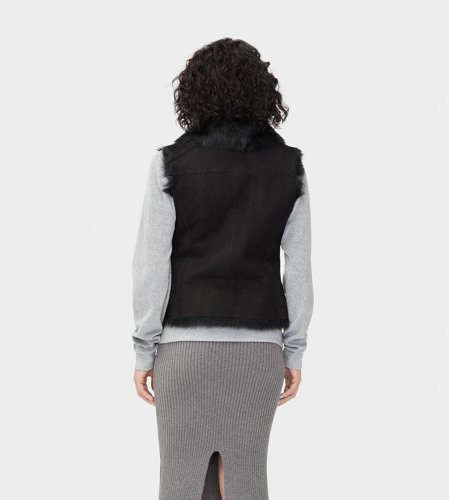 Renee Toscana Shearling Vest  - Image 2 of 6