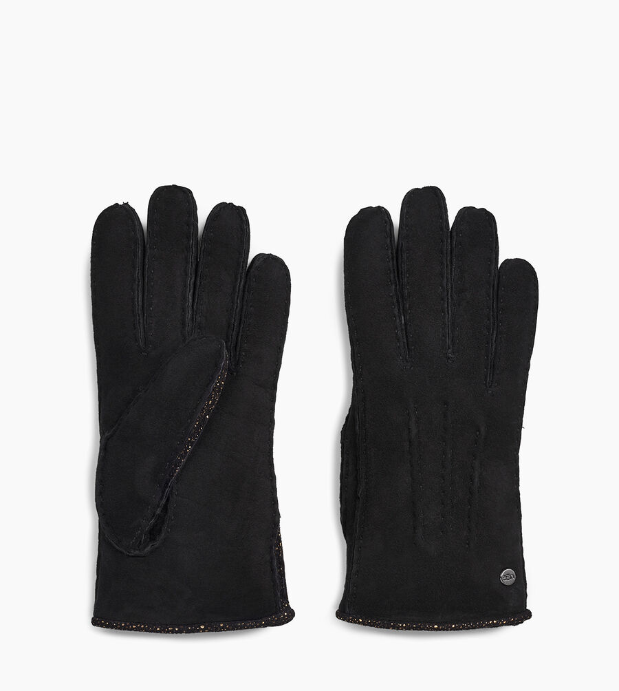 Sheepskin and Leather Mixed Glove - Image 2 of 2