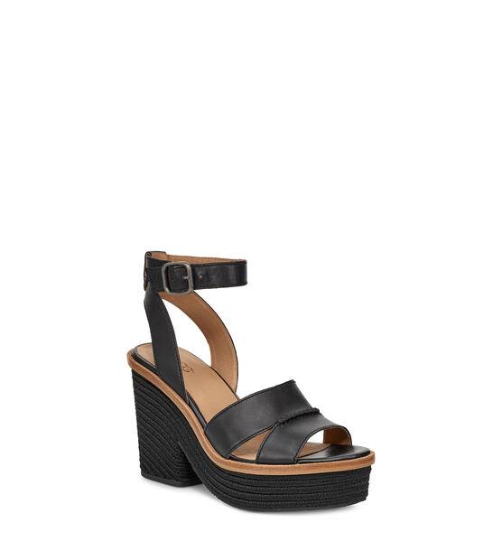 Carine Leather Heel