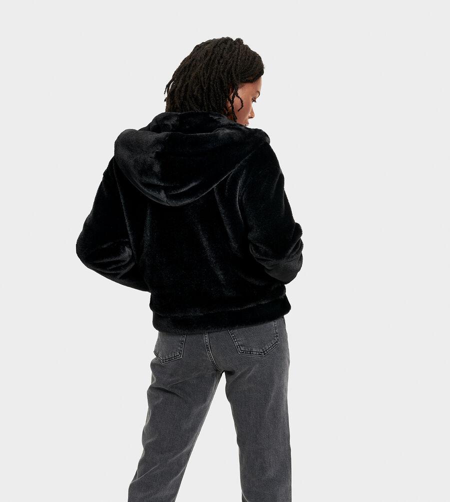 Mandy Faux Fur Hoodie - Image 2 of 6