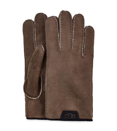 Shearling Glove W/ Lthr Trim