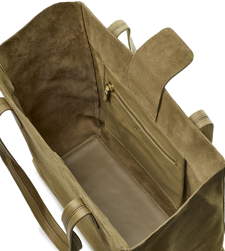 Alina Suede Tote - Image 4 of 6
