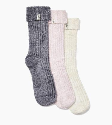 Cozy Sparkle Sock Gift Set