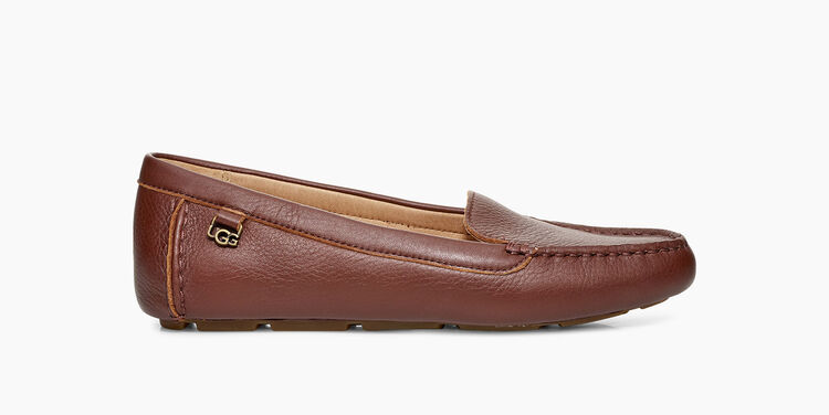 Flores Leather Flat