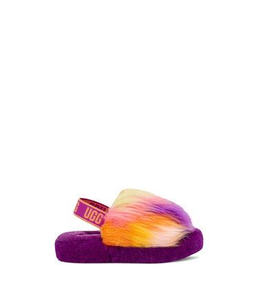 Fluff Yeah Slide Tie Dye