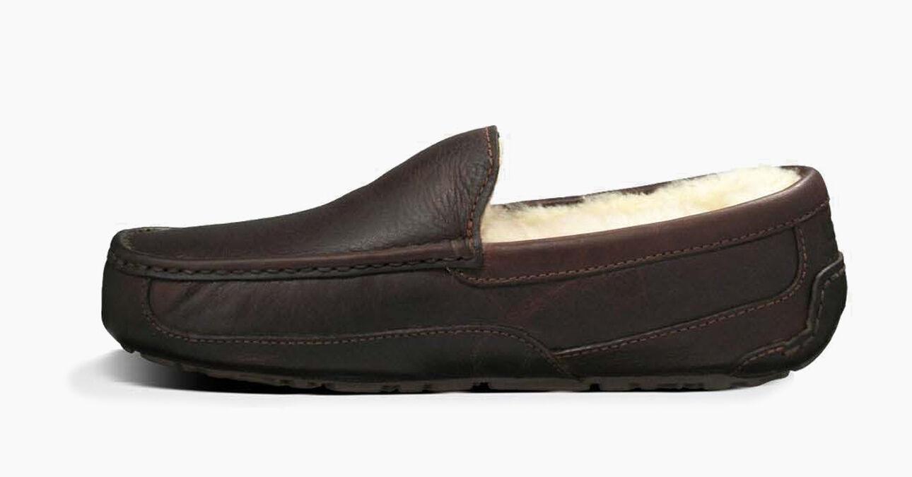 Men's Ascot Leather Slipper | UGG® Official