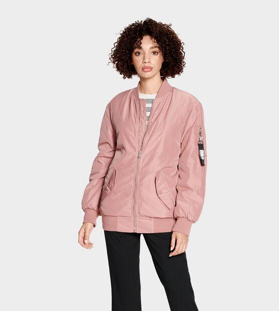 Frances Oversized Bomber Jacket