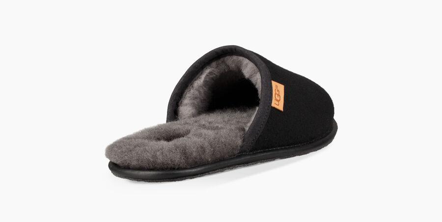 Scuff All Black Slipper - Image 4 of 6