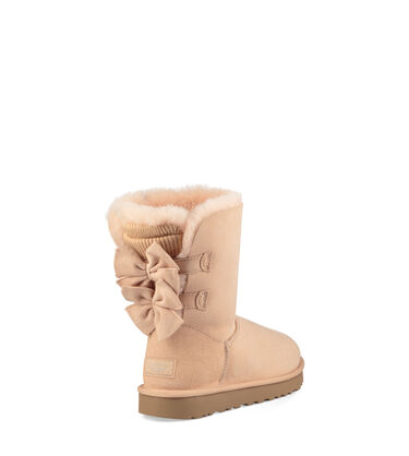 Bailey Bow Short Ruffle Boot