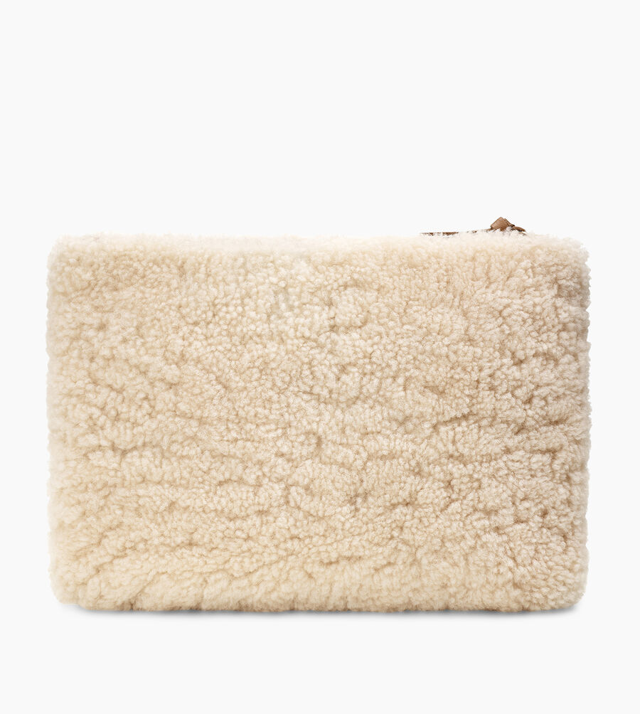 Large Sheepskin Zip Pouch - Image 3 of 5