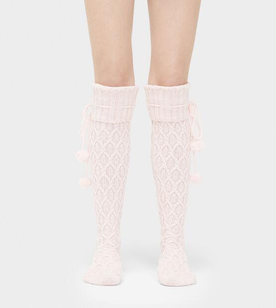Sparkle Cable Knit Sock