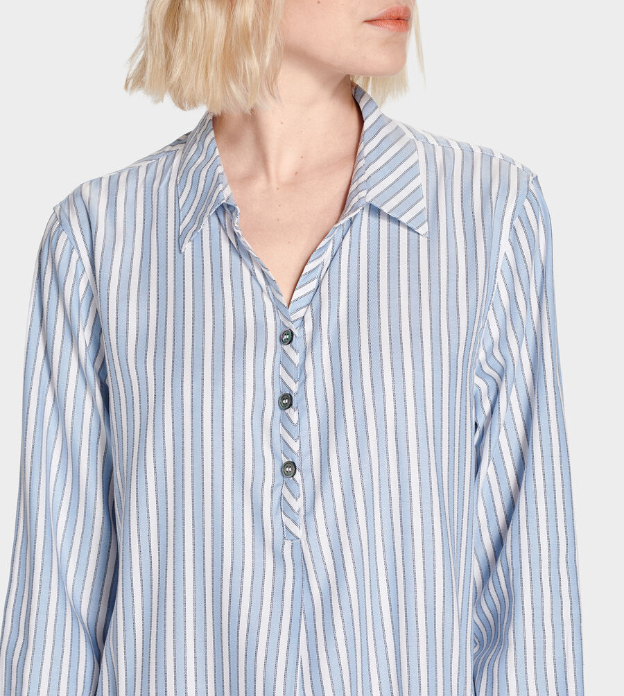 Gabri Stripe Sleep Dress - Image 5 of 6