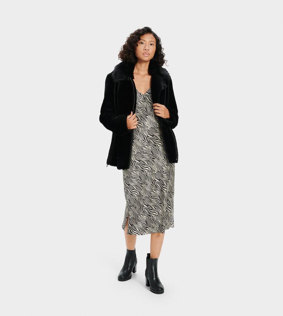 Nadine Short Shearling Jacket - Image 4 of 4