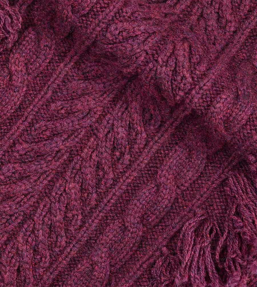 Cable Fringe Scarf - Image 3 of 3