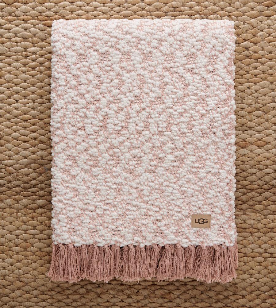 Amita Boucle-Knit Throw - Image 3 of 3