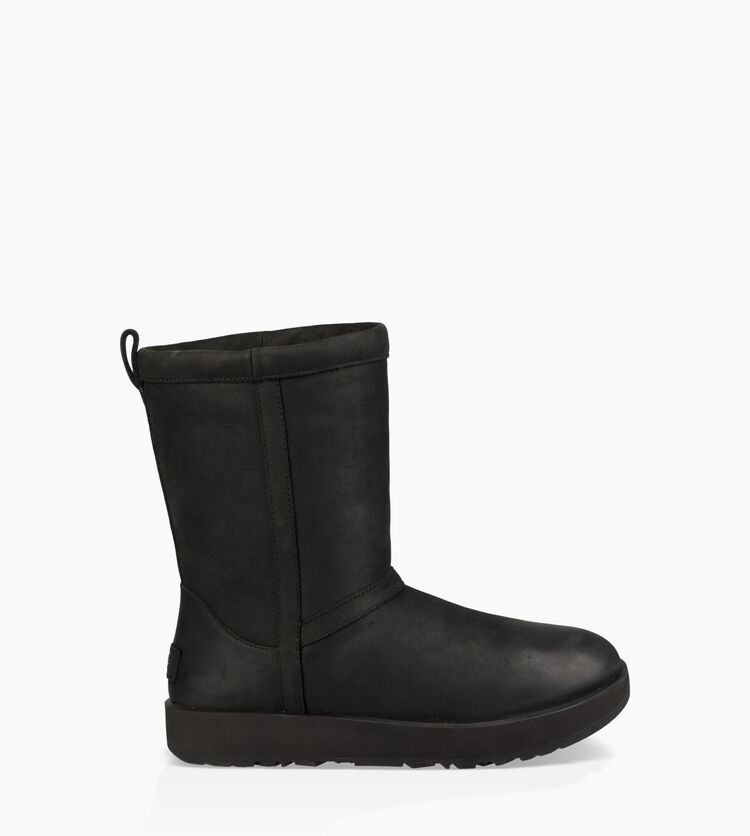 Classic Short Leather Weather Boot