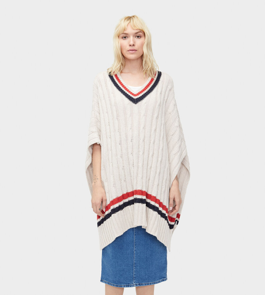 Weslynn Sweater Poncho - Image 2 of 4