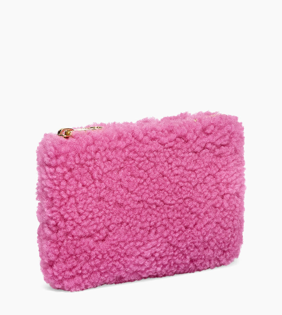 Sheepskin Small Zip Pouch  - Image 2 of 5
