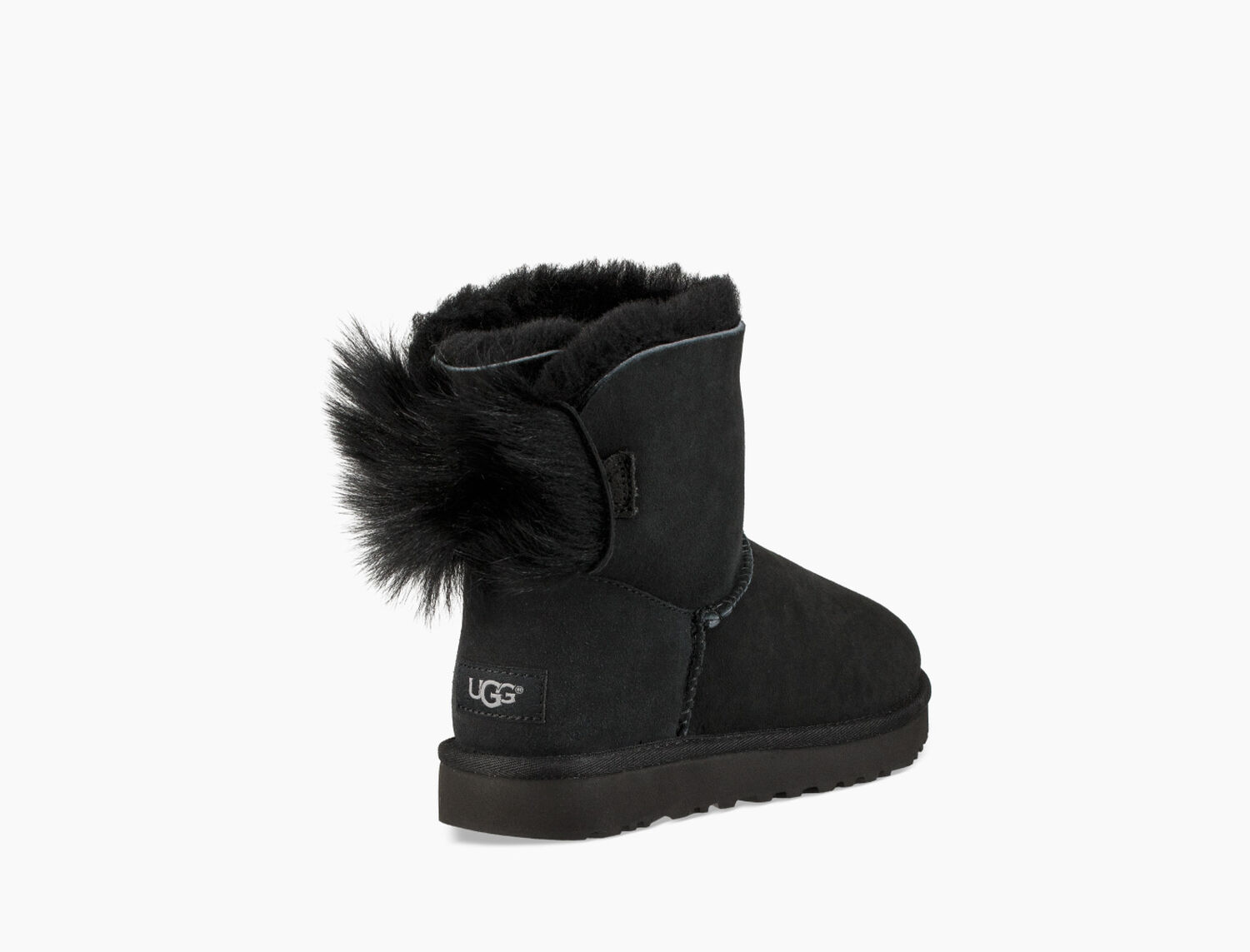 Zoom Classic Mini Fluff Bow Boot - Image 1 of 6 38516d4a4