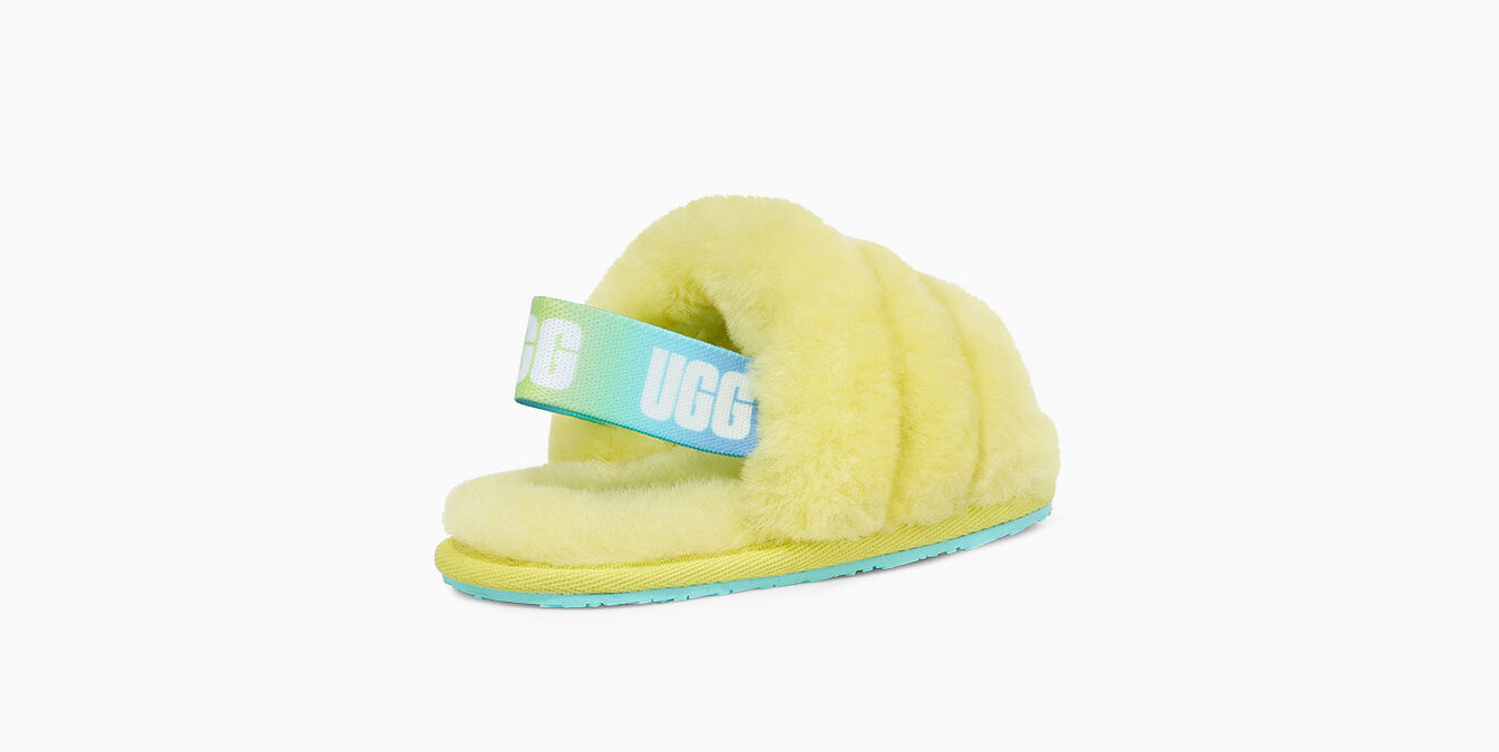 Fluff Yeah Slide Toddler Slipper   UGG® Official