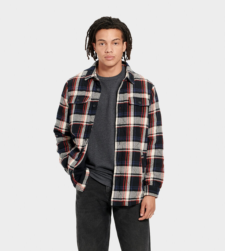 Trent Quilted Shirt Jacket Plaid - Image 1 of 6