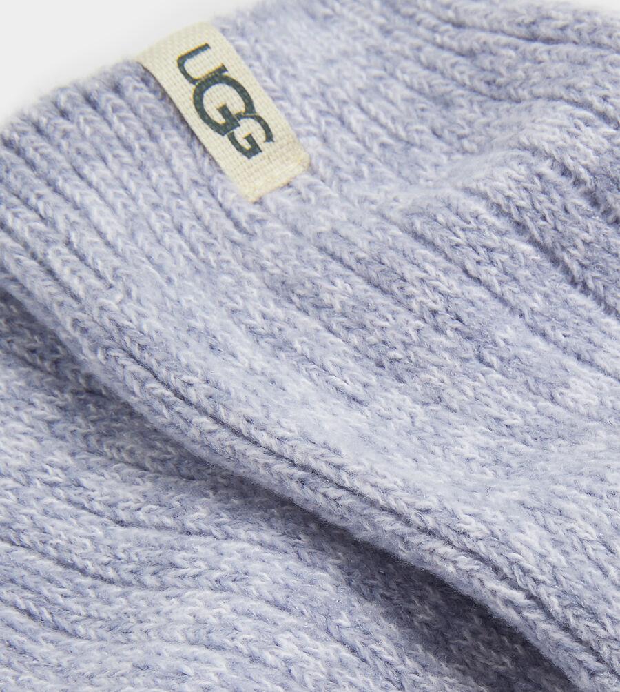 Rib Knit Slouchy Crew Sock - Image 2 of 3