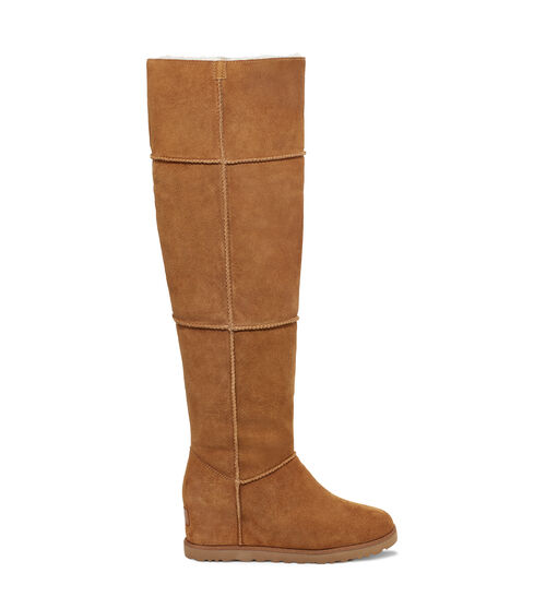 UGG Classic Femme Over The Knee Bottes en Chestnut