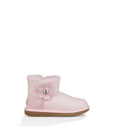 UGG Mini Bailey Button Poppy Boot