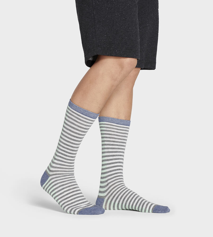 Codie Stripe Crew Sock - Image 3 of 4