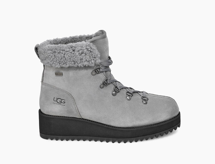 Birch Lace-Up Shearling