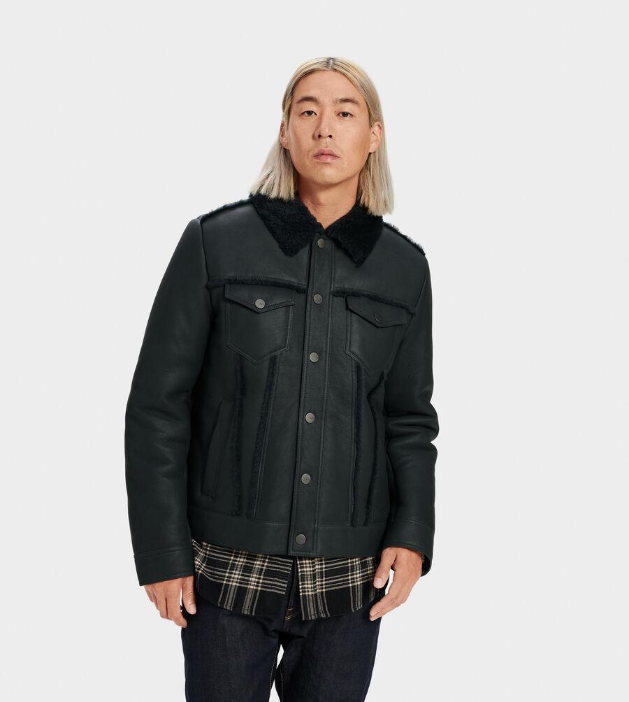 Clint Shearling Trucker Jacket - Image 1 of 4