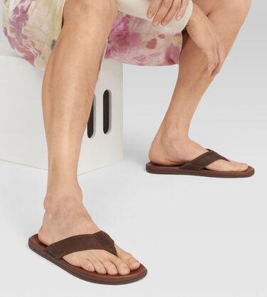 Seaside Leather Flip Flop Alternative View