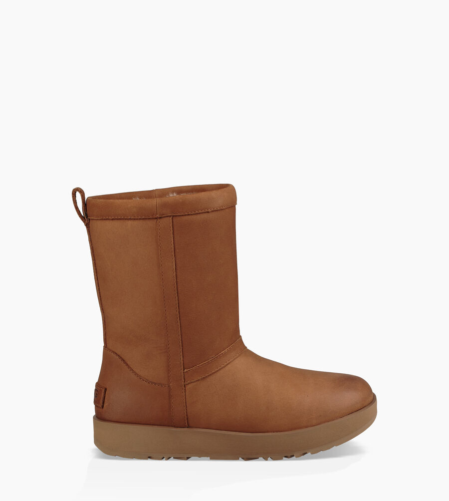 Classic Short Leather Waterproof Boot - Image 1 of 6