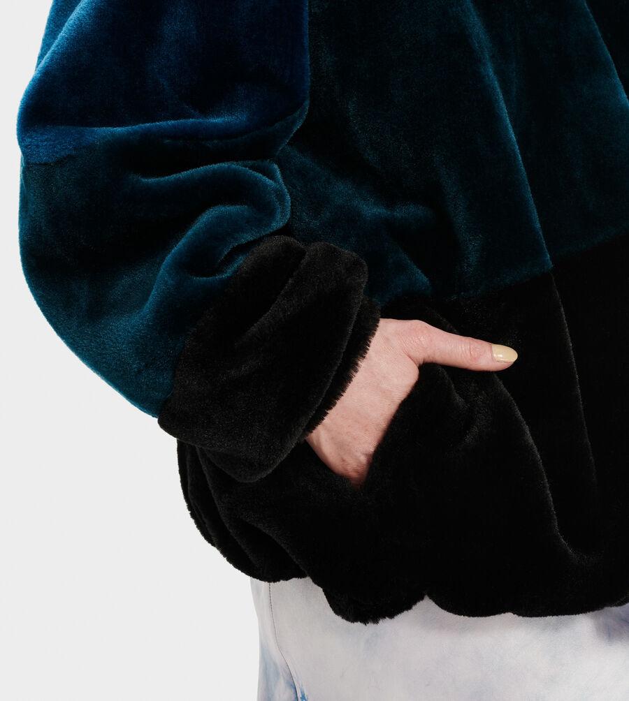 Elaina Colorblock Sherpa - Image 3 of 4